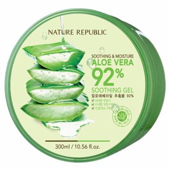Nature Republic Soothing & Moisture 92% Aloe Vera Soothing Gel 300ml Price Philippines