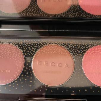 Harga BECCA-BLUSHED WITH LIGHT PALLETTE