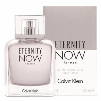Harga Calvin Klein Eternity Now Eau De Toilette for Men 100ml