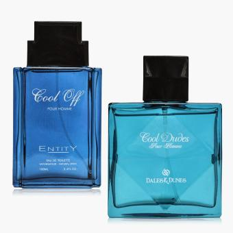 Dales and Dunes Cool Dudes and Entity Cool Off Eau de Toilette Set for Men Price Philippines