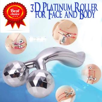 3D Platinum Roller Solar Energy Body & Face Massager Price Philippines