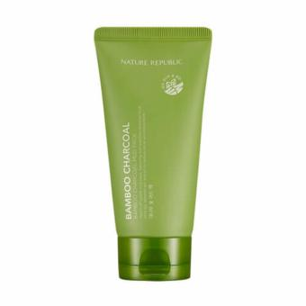 Harga NATURE REPUBLIC Bamboo Charcoal Mud Pack, 150ml