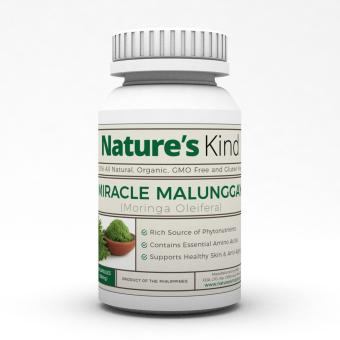 Organic Miracle Malunggay 500mg Capsules - Buy One Take One Moringa Promo! Price Philippines