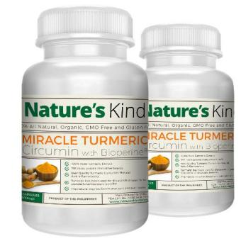 Organic Turmeric Capsules (Highest Potency with Pepper) Buy One Take One Promo! Price Philippines