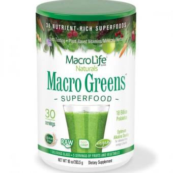 Harga MacroLife Naturals Greens Superfood 18 Billion Probiotics