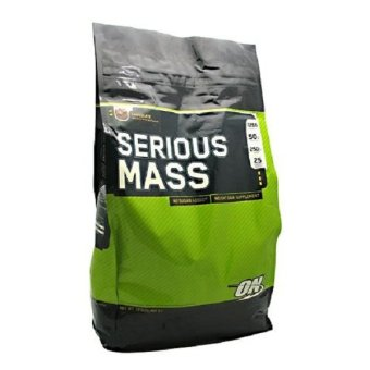 Optimum Nutrition Serious Mass 12 Pounds (Chocolate) Price Philippines