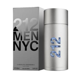 Harga Carolina Herrera 212 NYC Men Eau de Toilette for Men 100ml
