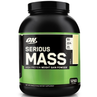 Optimum Nutrition Serious Mass 6lbs (Vanilla) Price Philippines