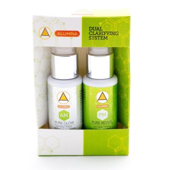 Alumina Dual Clarifying System (AM & PM) Face Cream (White/Green) Price Philippines
