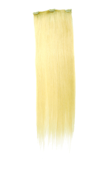 Harga Keira Clip On Hair Extensions 22 Inches Long Waist Length 3 Clips (Platinum Blonde)