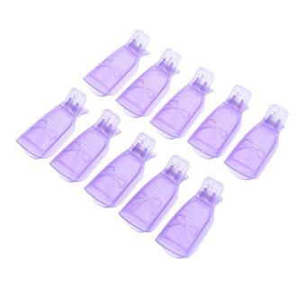 10Pcs UV Gel Soak Off Removers Nail Polish Remove Finger Clip Caps - intl Price Philippines