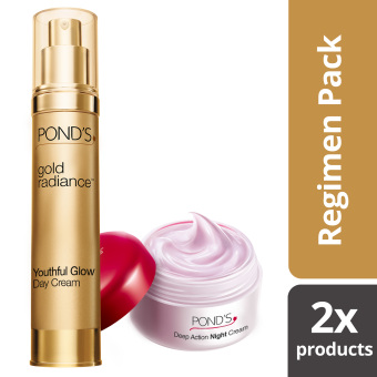 Pond's Gold Radiance Day Cream with Free Age Miracle Night Cream 10g Price Philippines