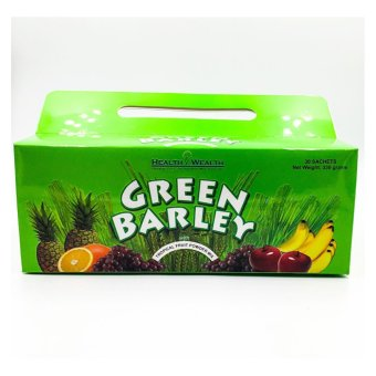 Harga Health & Wealth green barley powder 30 sachets