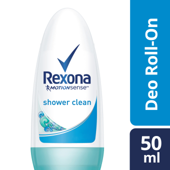 Harga Rexona Women Deodorant Roll-On Shower Clean 50Ml