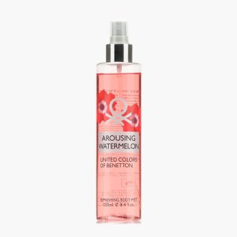 Harga United Colors of Benetton Arousing Watermelon Body Mist 250 mL