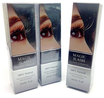 Harga Magic iLash Eyelash Enhancer Serum 8ml Bundle of 3
