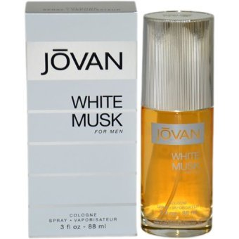 Harga Jovan White Musk Eau de Cologne for Men 88ml