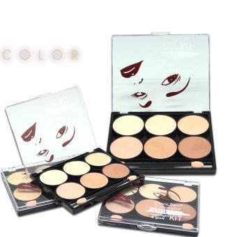 Harga Chanleevi Highlight &Glow Concealer Kit CH-108 #01