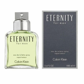 Harga Calvin Klein Eternity Eau de Toilette for Men 100ml