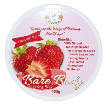 Bare Body Sugar Wax Strawberry (400g) Price Philippines