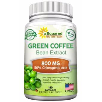 aSquared Nutrition 100% Pure Green Coffee Bean Extract, 180 capsules, 90-day Supply Price Philippines
