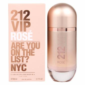 Harga Carolina Herrera 212 VIP Rose Are You On the List NYC Eau de Parfum for Women 80ml2