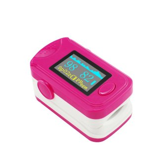 Pink RPO-8B5 Color OLED Fingertip Pulse Oximeter with Audio Alarm & Pulse Sound – Pulse Rate and Spo2 Monitor CE FDA Price Philippines