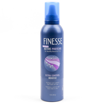 Harga Finesse Active Proteins Extra Control Mousse with Active Proteins 198g