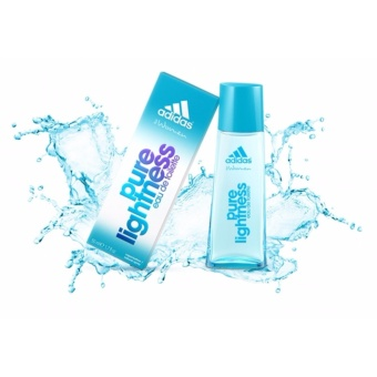 Harga Adidas Pure Lightness Blue Eau De Toilette For Women 50 ML
