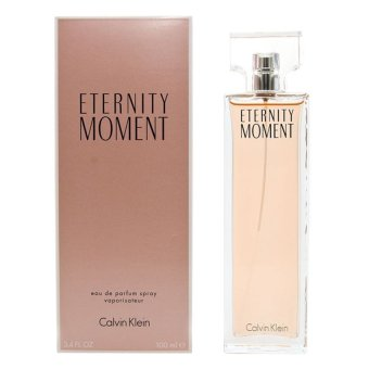 Harga Calvin Klein Eternity Moment Eau de Parfum for Women 100ml