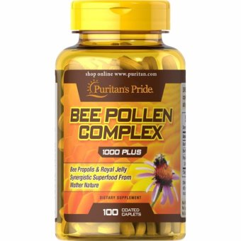 Puritan's Pride Bee Pollen Complex 1000 Plus, 100 Caplets Price Philippines