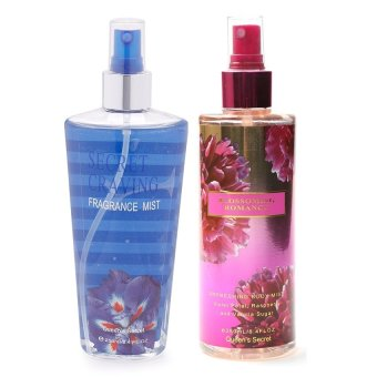 Harga Queen's Secret Secret Craving Fragrance Mist for Women 250ml with Queen Secret Blossoming Romance Body Mist 250ml Bundle