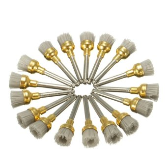 50PCS Dental Lab Alumina Bowl Polishing Polisher Brush ProphyBrushes 2.35mm - intl Price Philippines