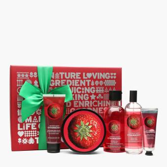 Harga The Body Shop Strawberry Premium Collection