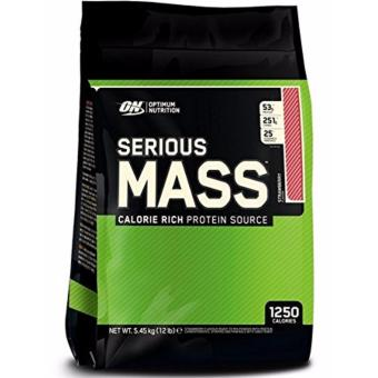 Optimum Nutrition Serious Mass 12lbs (Strawberry) Price Philippines