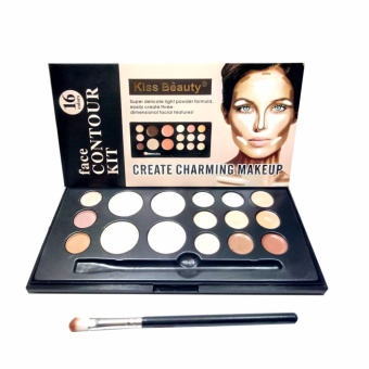 Kiss beauty Face Contour kit 16 colors Create Charming Make Up Price Philippines