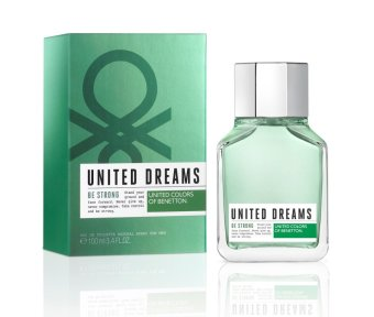 Harga United Colors of Benetton United Dreams Be Strong Eau de Toilette for Men 100ml