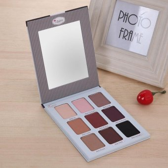 Harga Eyeshadow Matte Palette Eye Shadow Eyes Making Makeup Charm Cosmetic Beauty - intl