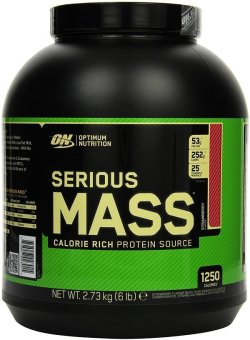 Optimum Nutrition Serious Mass 6lbs (Strawberry) Price Philippines
