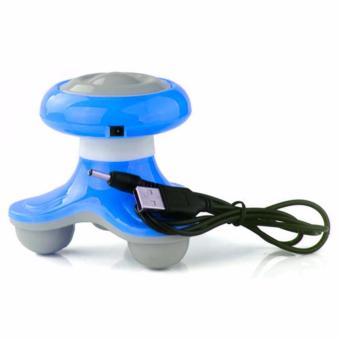 Harga Mini Electric Massager (Blue)