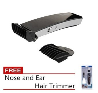 Pritech iTrimmer 1288 Hair Trimmer (Black) with Free Nose and Ear Hair Trimmer Price Philippines