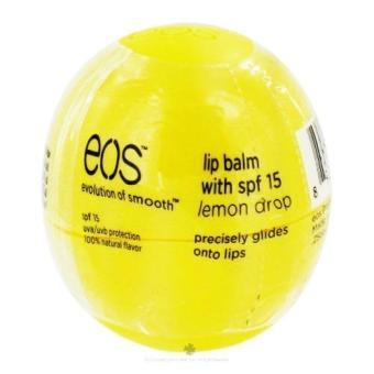 Harga Eos Lip Balm (lemon drop/yellow)