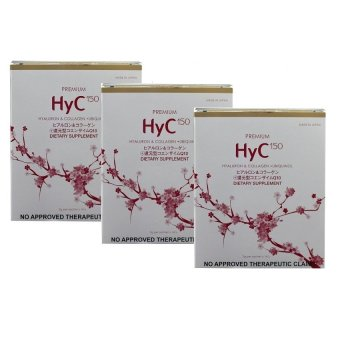 Harga FINE Premium HyC150 Anti Aging Hyaluron and Collagen Powder Drink Sachet Box of 14 Set of 3