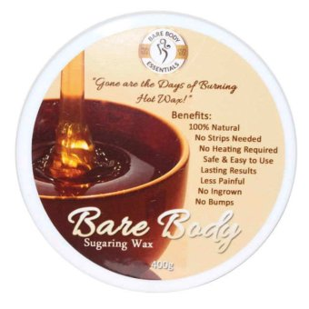 Bare Body Sugar Wax Regular (400g) Price Philippines