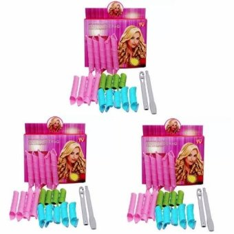 Harga Magic Hair Curlers Curl Formers Spiral Ringlets Leverage Rollers