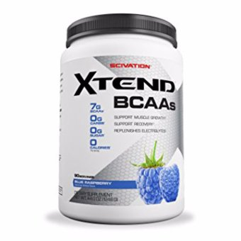 Harga SCIVATION XTEND BCAAs 90 Servings Blue Raspberry