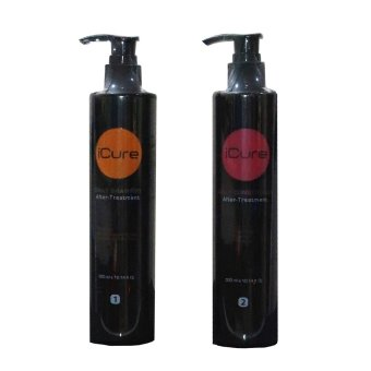 Harga iCure Shampoo and Conditioner 300ml