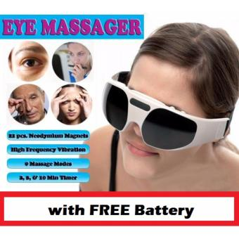 Harga RELAX EYE MASSAGER With FREE Battery