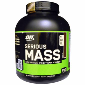 Optimum Nutrition SERIOUS MASS 6 LBS (Chocolate) Price Philippines