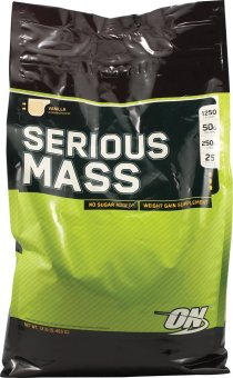 Optimum Nutrition Serious Mass 12lbs (Vanilla) Price Philippines